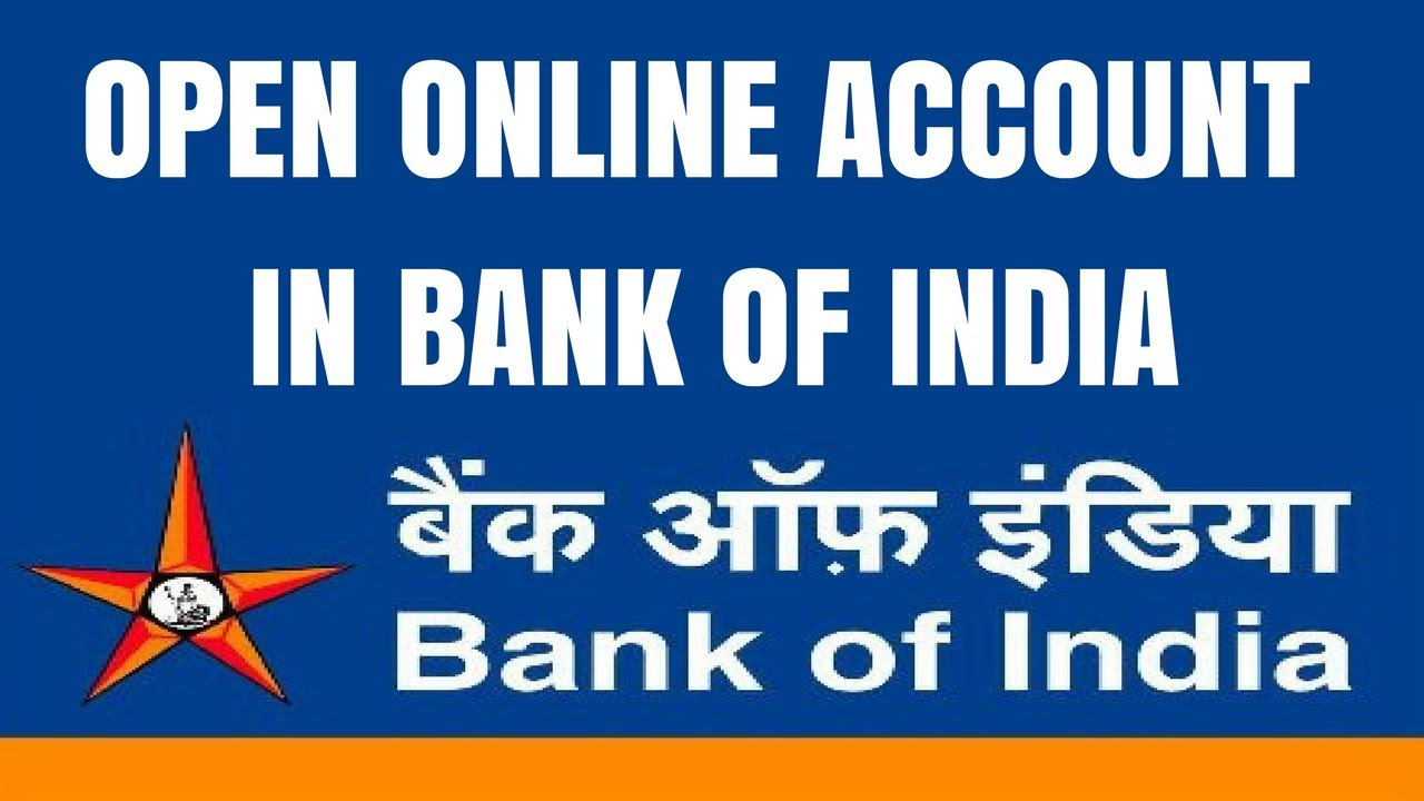 Bank Of India Account Opening Online How To Open Zero Balance