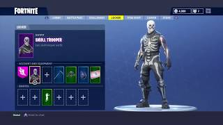 FORTNITE ACCOUNT FOR SALE W/ SKULL TROOPER - PAYPAL/PSN ONLY
