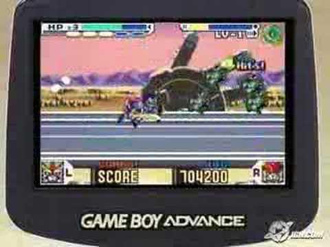 SD Gundam Force GameBoy Advance Commercial