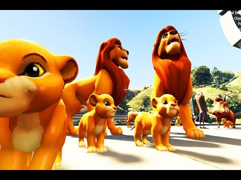 The Lion King 2017 - SIMBA FAMILY LIVING THE LIFE