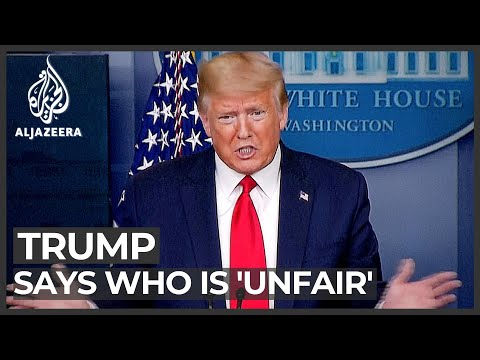 President Trump criticises WHO: Agency 'unfair' to US