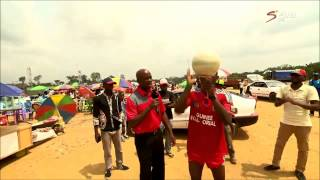 Freestyle football skills - Afcon 2015