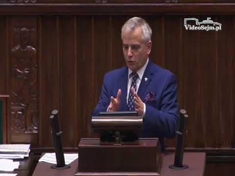 Andrzej Maciejewski  – wystąpienie z 24 listopada 2017 r.