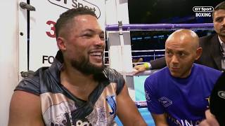 Joe Joyce opens up about fight changing body shot in the very first round