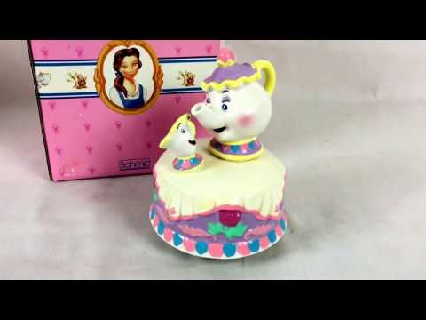Schmid Disney Mrs. Potts & Chip Music Box Tune