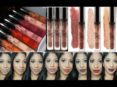 Kylie Jenner Lipstick Collection | Lip Kit | Lipgloss | Metal Matte Lipstick | Review+Swatches