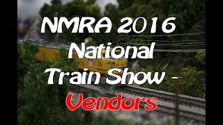 nmra 2016 national model train show vendors