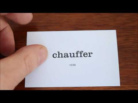 Learn French with Vincent # Flashcards on my table # Part 06