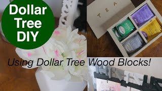 "DIY $DOLLAR TREE$ ""This is Us"" sign and Tea Box! ☕️"