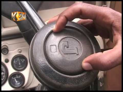 Man uses cooking oil as fuel for his vehicle in Nakuru