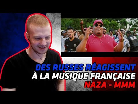 RUSSIANS REACT TO FRENCH MUSIC | Naza - MMM (Clip Officiel) | REACTION