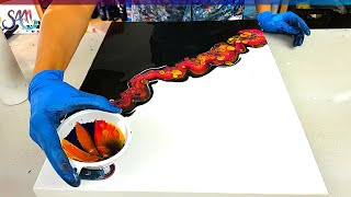 TOP 10 Awesome Acrylic Pouring Techniques | Satisfying Fluid Art | Acrylic Pouring Compilation 2021