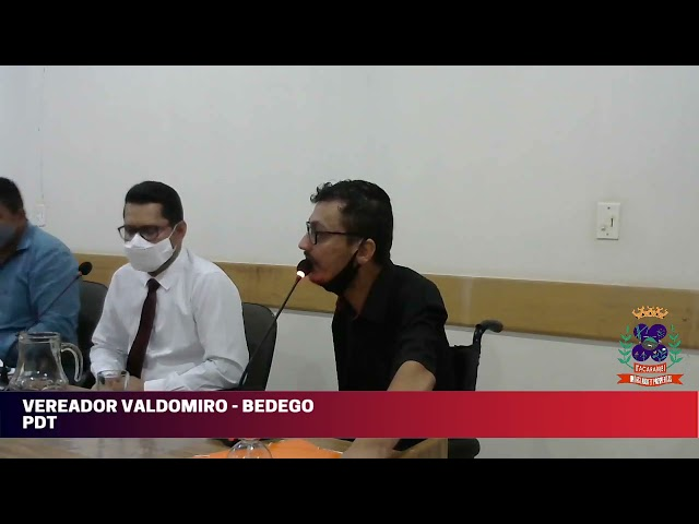 Câmara Municipal de Vereadores de Itacarambi MG Reunião realizada no dia 22/09/2021