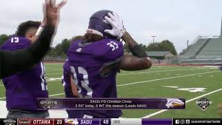Football Routs Ottawa in Home Opener – SAGU Sports Update (S3E6)