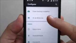 Atualização Moto G para Android 5.0.2 Lollipop