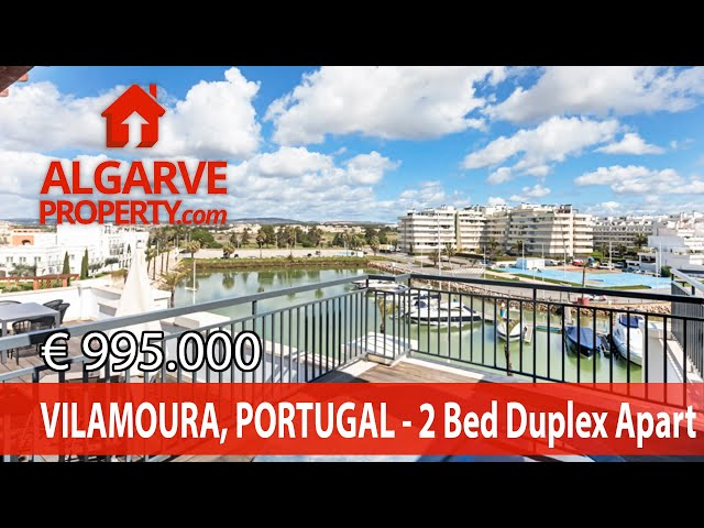 VILAMOURA - Luxury 2 bedroom duplex apartment  terrace w/ Jacuzzi