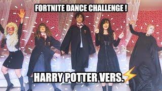 FORTNITE DANCE CHALLENGE!- Harry Potter Characters!