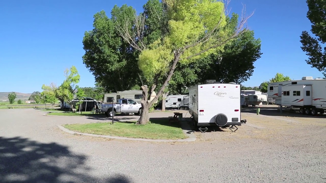 Jones High Country Rv Camp In Nephi Utah Youtube