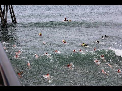 68th Annual Huntington Beach Pier Swim