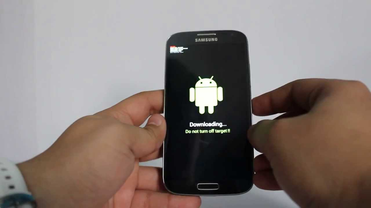Instalare Android Lollipop pe Galaxy S4 i9500 147