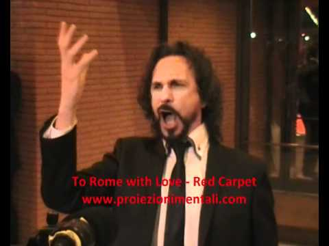 "FABIO ARMILIATO (canta/sing)- red carpet ""To Rome with Love"" (in Rome!)"