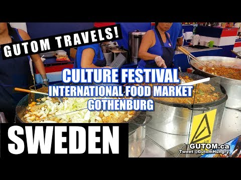 SWEDEN TRAVEL - GOTHENBURG CULTURE FESTIVAL INTERNATIONAL FOOD MARKET (Göteborg) - Gutom.ca