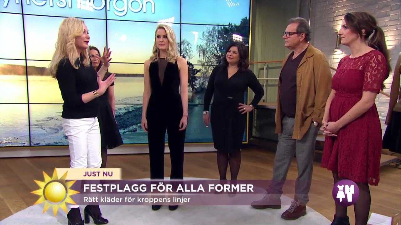58a941745d89 Klä dig för just din kroppsform - Nyhetsmorgon (TV4) - YouTube
