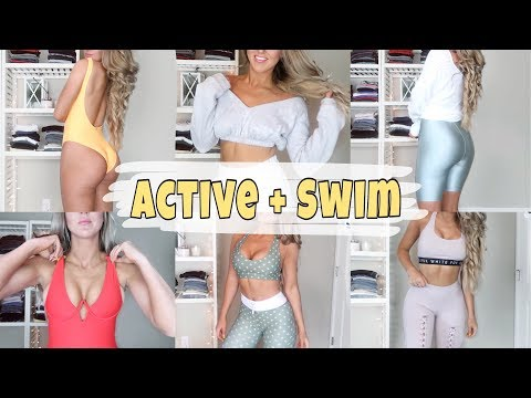 HUGE WHITEFOX Activewear And Swimsuit Haul