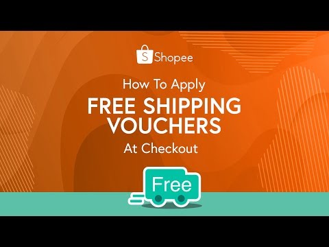 How To Apply Free Shipping Vouchers at Checkout