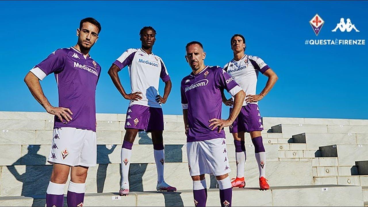 Maglie Fiorentina 2020-2021, l'esordio di Kappa con i Viola