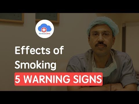 Dr. Mudit Agarwal, Surgical Oncologist, New Delhi | Effects of Smoking | NimbusClinic