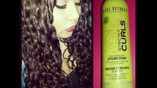 Marc Anthony Strictly Curls Styling Foam | Review