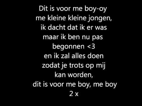 Ali-B, Yes-R, Lange Frans. Me boy - Lyrics 3