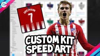 Roblox | Griezmann's Atletico Madrid Jersey - Speed Art!