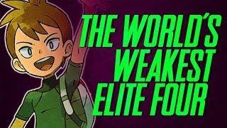 The Weakest Elite Four - A Worldwide Pokémon League? | Mr1upz