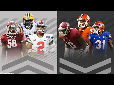NEW Top 50 2017 NFL Draft Prospects | Daniel Jeremiah | Move The Sticks