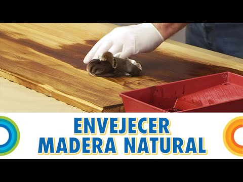 Envejecer madera natural bricocrack youtube - Como envejecer un mueble barnizado ...