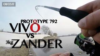 Виво прототип против судака 3кг. 8 марта на москве-реке.