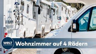 URLAUB IM WOHNMOBIL: Camping-Boom iฑ Deutschland