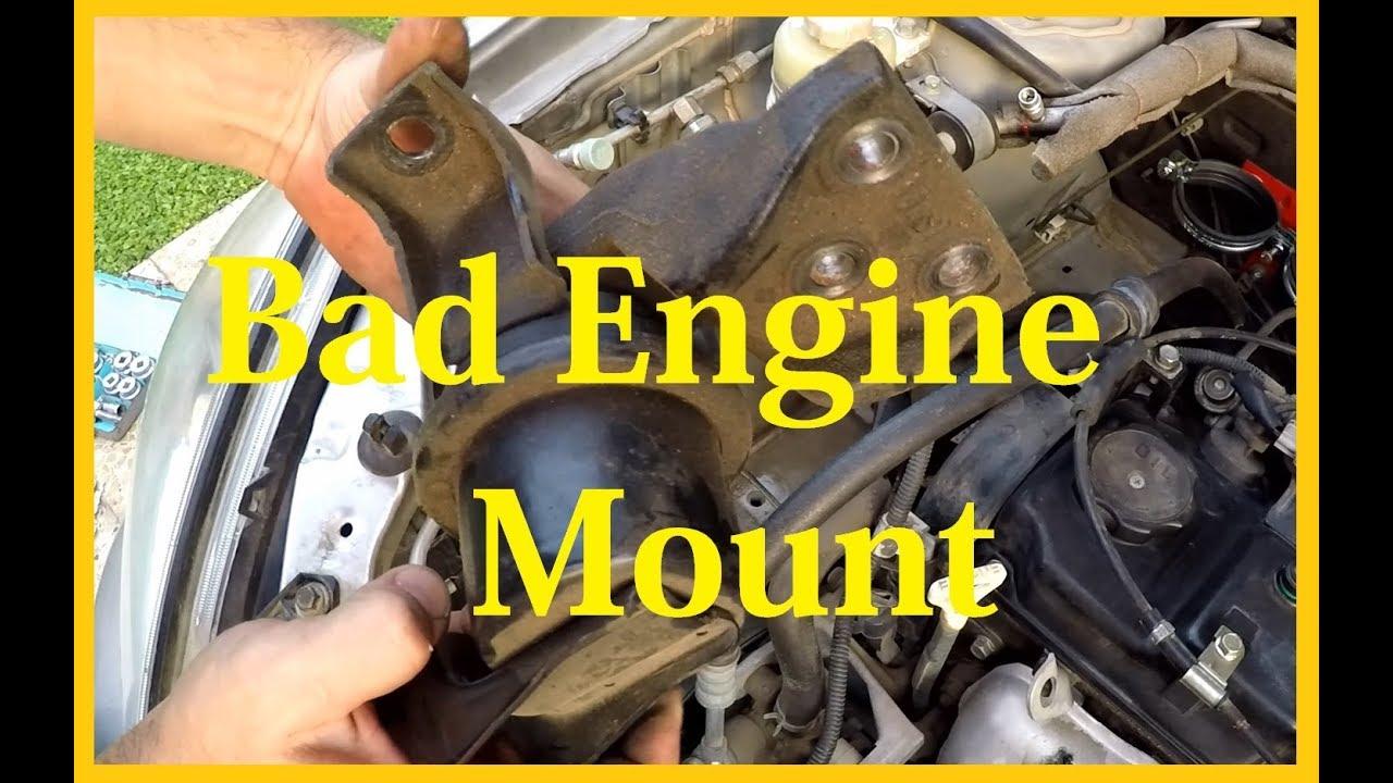 Mitsubishi Lancer 2008 Engine Mount Replacing Youtube