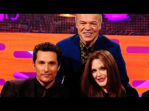 MATTHEW McCONAUGHEY's Weight Loss & JULIANNE MOORE's Pregnant Grandma! The Graham Norton