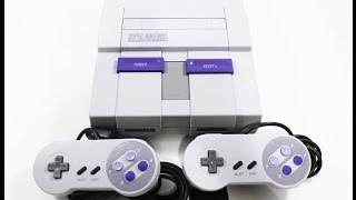 All SNES Games - Every Super Nintendo Entertainment System Game In One Video
