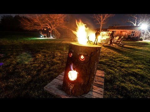 *New* - How to make a Fire Log