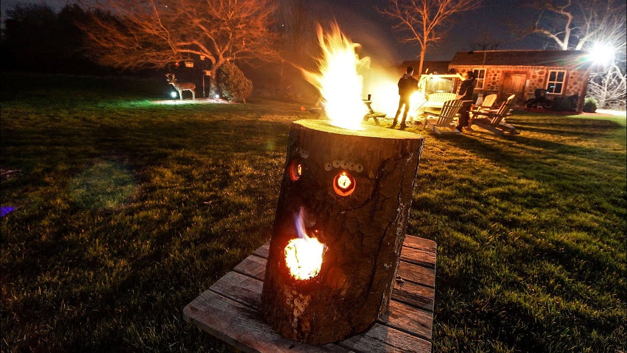 new how to make a fire log 2013 youtube