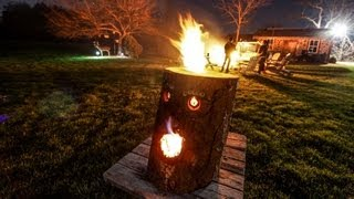 *New* - How to make a Fire Log -2013