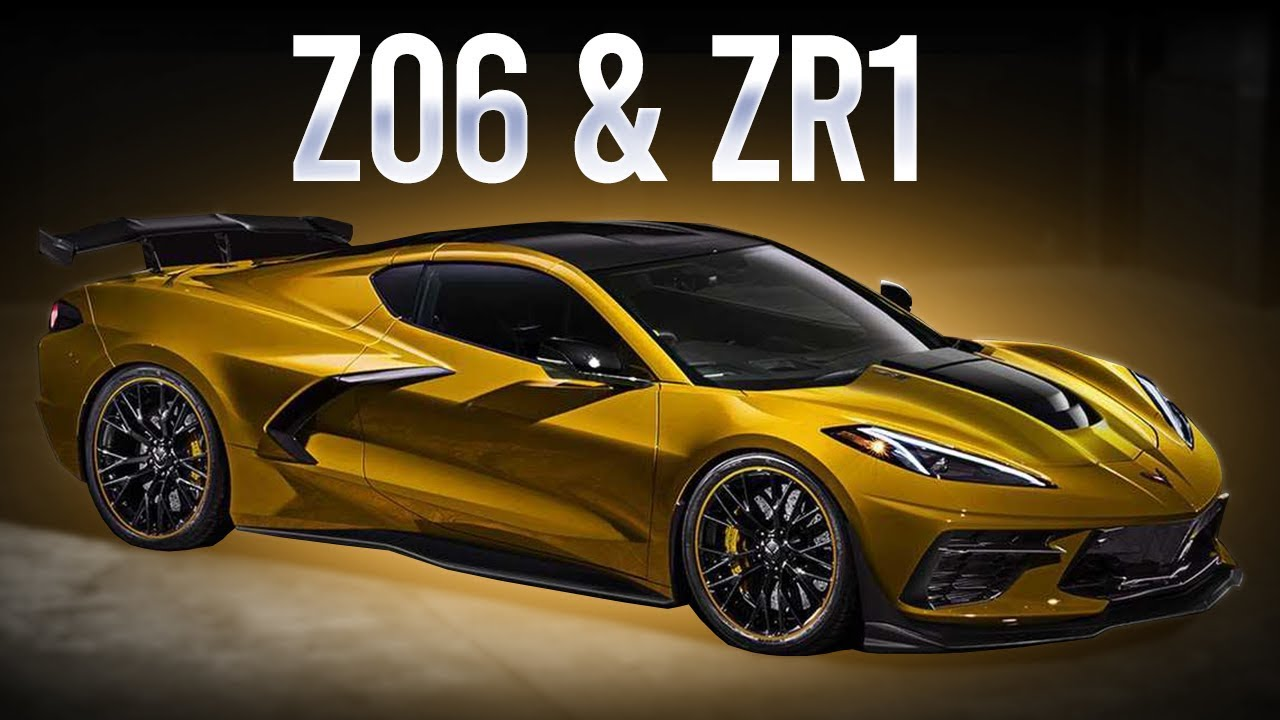 Corvette C8 Z06 & ZR1 LEAKED ENGINE SPECS! 600-1000HP ...