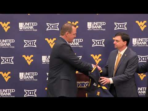 BlueGoldNews.com: WVU Football Neal Brown Introductory Press Conference