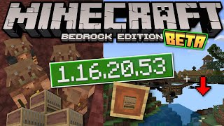 Minecraft Bedrock BETA 1.16.20.53 OUT NOW ! Controller UI + [ Change Log ] MCPE / Xbox / Windows
