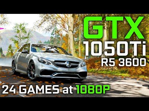 GTX 1050 Ti + RYZEN 5 3600 TEST IN 24 GAMES