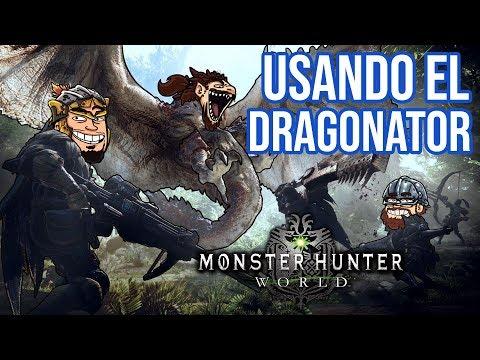 Usando el Dragonator - Monster Hunter World   INJUGABLES thumbnail